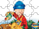 Play Caillou in Garden