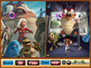 Play Monsters vs Aliens Similarities